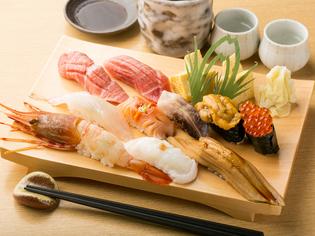 高級店の技術、味を気軽に味わえる 『すきあじ寿司』