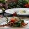 長崎の旬がどの皿からも感じられる『テラスディナーコース』 ※メニュー詳細はコースページ参照