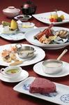 毎月変わるこのコースはアミューズ、オードブル、スープ、お茶漬け、デザートそれぞれが工夫されています。