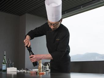 お客様の想像が広がりわくわくと心が躍る感動のある料理を提供