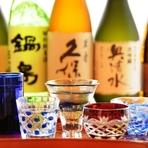 焼酎が有名な九州ですが、実は日本酒も美味しいものがあります。九州の地酒をはじめ全国各地から鮨とよく合うものを選び抜いてあり、熱燗も、冷酒もお好みのものが楽しめます。