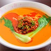 ラーメンの中で人気を博している『タンタン麺』