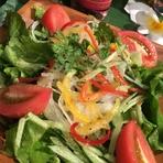 鈴鹿産のレタスを使用した グリーンサラダ
