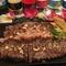 特選牛肉のグリルステーキ