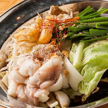 【ご宴会コース】選べる特上和牛のもつ鍋つき 3500円
