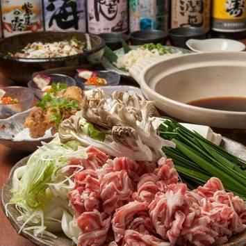 【ご宴会コース】蝦夷鹿肉しゃぶしゃぶor鹿すき鍋 3500円