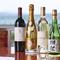 日本料理を引き立てるワインやシャンパンも充実