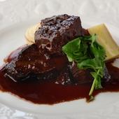 古典レシピ 牛ホホ肉の赤ワイン煮込み