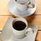 ご飯のどんぶりや、コーヒーのカップは丹波焼です