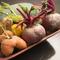 珍しい県産野菜を個性的にアレンジ