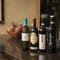 料理と相性のいいワインはリストにメニューがズラリと並ぶ
