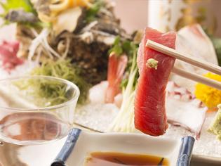 漁師さんから直接買いつけている千葉の地魚は、鮮度に自信あり