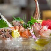 『かうだの魚盛り』は朝どれで新鮮 その日の水揚げで変わる鮮魚