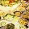 四季折々の新鮮な野菜をふんだんに使った、和洋中の創作料理