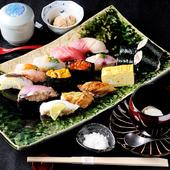 この道50年熟練の寿司職人が握る『芝翫(しかん)』