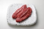 『ミスジ』牛の肩甲骨の下あたりにあるお肉で1頭からわずかな量しかとれない希少な部位です