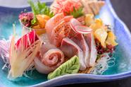 巡る季節を追いかける新鮮な海の幸が美味しいタイミングで楽しめる『おまかせ3点盛り』