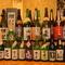 古くから日本酒の製造が盛んだった奈良県の地酒を中心に全国各地のおいしいお酒が楽しめる『地酒各種』