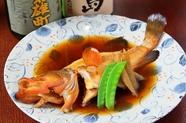 瀬戸内の高級魚のおいしさをしっかりと味わう『あこうの煮つけ』