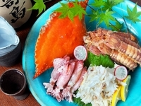 岡山の地魚と地酒とのマリア―ジュをお楽しみください