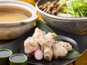 江田島軍鶏で取った出汁が味わい深い『江田島軍鶏の水炊き』