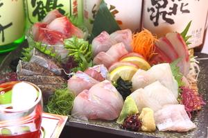 豪華鮮魚6点盛り