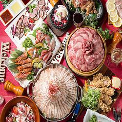 当店の宴会で大人気の宴会コースです!!3時間の飲み放題付でお料理が10品!!