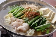 醤油、味噌、塩、チゲのスープから選べる『博多もつ鍋』