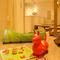 越谷ツインシティにあり、家族連れに人気。フリーWIFIも