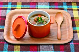 野菜たっぷりのヘルシーな【日替わりスープ】