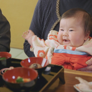 お子様の100日を祝う 「お食い初め」 魚匠庵でご用意致します。