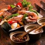 女性に人気のヘルシーな季節の食材を使った料理