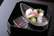 鯛茶膳 平日限定ランチ 4月 11月を除くシーズンオフのみ、サービスメニューとなります。