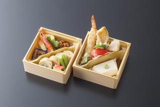 ■松花堂弁当 2段 4500円+税
