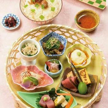 【お昼限定】季節の籠盛り付 お昼限定のランチセット