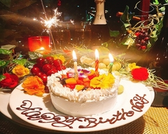 大切な記念日に尾崎牛も味わって頂けホールケーキに感動のサプライズも付いた特別なコースです!!