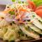 アヤムサラダ(鶏のサラダチリマヨソース)