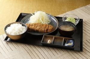 北海道では珍しい『牛かつ定食』