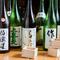 日本酒のこだわり。60種類以上のこだわりの日本酒の数々。