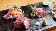 京の肉 三種盛り