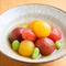 彩りトマトのお浸し