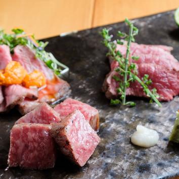 2時間飲み放題付き7品【先付~京の肉まで堪能】梅コース5,000円