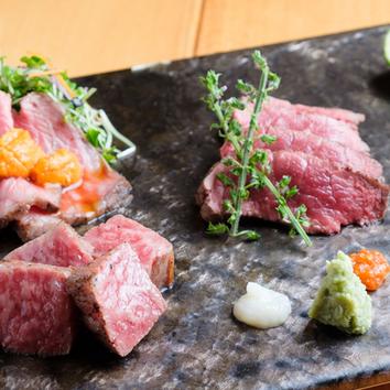 2時間飲み放題付き8品【京の肉を贅沢に堪能】竹コース6,000円