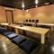 広々とした座敷スペースを個室として、よりプライベートな空間に