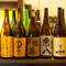 地酒だけでなく日本全国から銘酒を取り揃えています