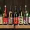 全国から評判で手に入りにくい日本酒を35種類。ぬる燗でもどうぞ