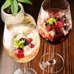 季節と果物のフルーツソーダ
