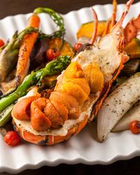 季節の旬食材と豪華食材どちらも堪能できる9皿の贅沢ダブルメインコース!
