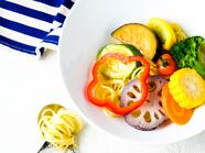 彩り野菜のパスタランチ