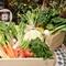 契約農家から仕入れる新鮮野菜でヘルシーイタリアン